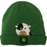 John Deere Toddler Girls' Farm Cow Beanie Hat from Blain's Farm and Fleet