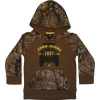 John Deere Toddler Boys' Brown 1837 Fleece Pullover Hoodie from Blain's Farm and Fleet