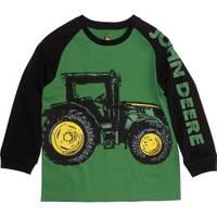 John Deere Little Boys' Green & Black Long Sleeve Tractor Tee from Blain's Farm and Fleet