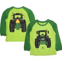 John Deere Little Boys' Green Long Sleeve Coming & Going Tee from Blain's Farm and Fleet