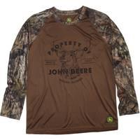 John Deere Big Boys' Brown Long Sleeve Property Of Tee from Blain's Farm and Fleet
