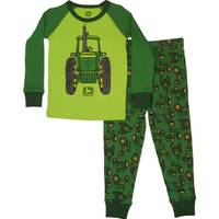 John Deere Toddler Boys' Green Vintage Tractor Pajamas from Blain's Farm and Fleet