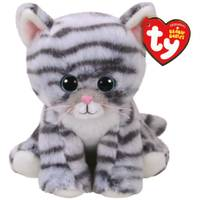 Ty Beanie Baby - Grey Cat from Blain's Farm and Fleet