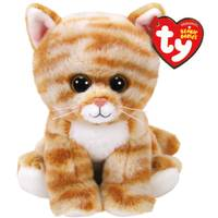 Ty Beanie Baby - Tan Cat from Blain's Farm and Fleet