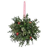 Transpac Traditional Ball Ornament from Blain's Farm and Fleet
