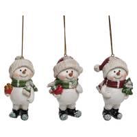 Transpac Resin Snowman Playful Ornament Assortment from Blain's Farm and Fleet