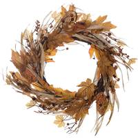 Transpac Imports Inc. Harvest Wreath from Blain's Farm and Fleet