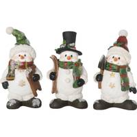Transpac Resin Traditional Snowman Figure Assortment from Blain's Farm and Fleet