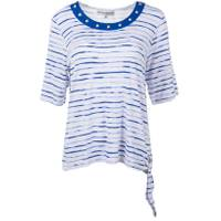 Cathy Daniels Misses 3/4 Sleeve Stripe Top Shirt from Blain's Farm and Fleet