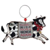 Sunset Vista Designs Cow Ornament from Blain's Farm and Fleet