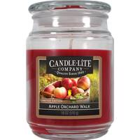 Candle-Lite 18 oz Apple Orchard Walk Jar Candle from Blain's Farm and Fleet