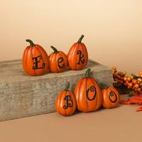 Gerson International Resin Halloween BOO or EEK Sign Assortment from Blain's Farm and Fleet