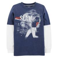 Carter's Boy's Baseball Layered-Look Tee from Blain's Farm and Fleet