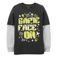 Carter's Boy's Gamer Slub Jersey Tee from Blain's Farm and Fleet