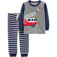 Carter's Toddler Boys' 2-Piece Firetruck Pant Set Heather from Blain's Farm and Fleet