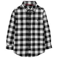 Carter's Big Boys' Plaid Flannel Buffalo Black & White from Blain's Farm and Fleet