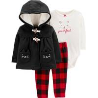 Carter's Infant Girls' Black 3-Piece Cardigan BSPS from Blain's Farm and Fleet