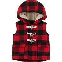 Carter's Infant Boys' Red & Black Check Vest from Blain's Farm and Fleet