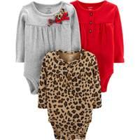 Carter's Infant Girls' 3-Pack Assorted Bodysuits from Blain's Farm and Fleet