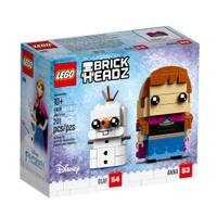 LEGO 41618 Brickheadz Anna & Olaf from Blain's Farm and Fleet