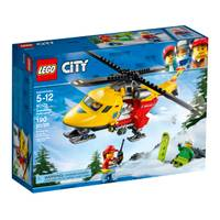 LEGO 60179 City GV Ambulance Helicopter from Blain's Farm and Fleet