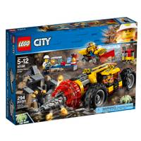 LEGO 60186 City Mining Heavy Driller from Blain's Farm and Fleet
