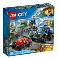 LEGO 60172 City Police Dirt Road Pursuit from Blain's Farm and Fleet