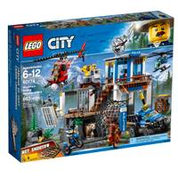 LEGO 60174 City Police Mountain Headquarters from Blain's Farm and Fleet