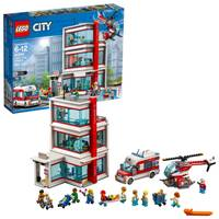 LEGO 60204 City Town Hospital from Blain's Farm and Fleet