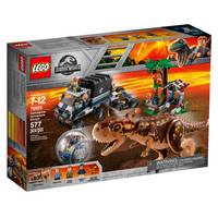 LEGO 75929 Jurassic World Carnotaurus Gyrosphere Escape from Blain's Farm and Fleet