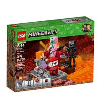 LEGO 21139 Minecraft The Nether Fight from Blain's Farm and Fleet
