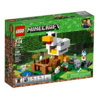 LEGO 21140 Minecraft The Chicken Coop from Blain's Farm and Fleet
