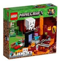 LEGO 21143 Minecraft The Nether Portal from Blain's Farm and Fleet