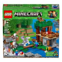 LEGO 21146 Minecraft The Skeleton Attack from Blain's Farm and Fleet
