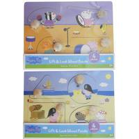 Mazel Company 4pc Peppa Pig Lift & Look Wood Puz Assortment from Blain's Farm and Fleet