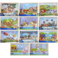 Mazel Company 12pc Licensed Wood Jigsaw Puzzle Assortment from Blain's Farm and Fleet