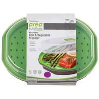Progressive International Prep Solutions Microwave Fish & Vegetable Steamer from Blain's Farm and Fleet