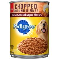 Pedigree 13.2oz Bacon Cheeseburger Ground Dinner from Blain's Farm and Fleet