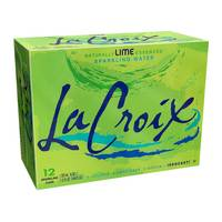 LaCroix 12-Pack Lime Sparkling Water from Blain's Farm and Fleet