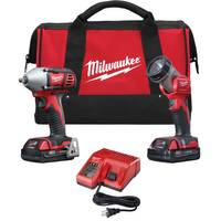 Milwaukee M18 2-Piece Compact 3/8