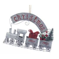 Kurt S Adler Metal Train Christmas Hanging Ornament from Blain's Farm and Fleet