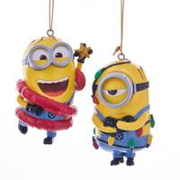 Kurt S. Adler Minion Phil/Mel Ornament Assortment from Blain's Farm and Fleet