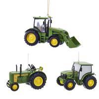 Kurt S. Adler John Deere Tractor Ornament  Assortment from Blain's Farm and Fleet