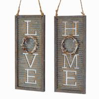 Kurt S. Adler LOVE/HOME Wreath Frame Ornament Assortment from Blain's Farm and Fleet