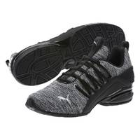 Puma Men's Axelion Athletic Shoes Black from Blain's Farm and Fleet