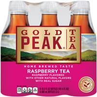 Gold Peak Tea 6-Pack 500ml Raspberry Tea from Blain's Farm and Fleet