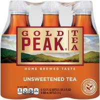 Gold Peak Tea 6-Pack 500ml Unsweetened Black Tea from Blain's Farm and Fleet