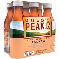 Gold Peak Tea 6-Pack 500ml Sweet Peach Tea from Blain's Farm and Fleet