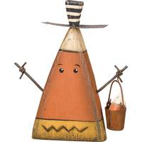 Primitives By Kathy Chunky Candy Corn Man Sitter from Blain's Farm and Fleet