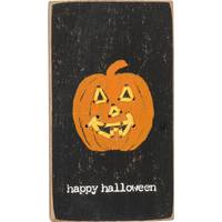 Primitives By Kathy Pumpkin Magnetic Block from Blain's Farm and Fleet